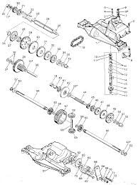 foote dana 5 speed transaxle parts model 43609 sears partsdirect