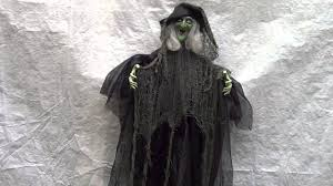 halloween costumes 1800 halloween scary stuff decoration hanging flying light up witch
