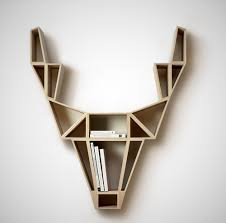 stag head designs deer head shelf by bedesign homeli
