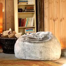 big bean bag chair color perfect faux fur bean bag chair for