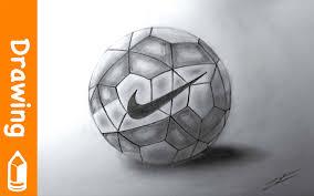 drawing nike football youtube