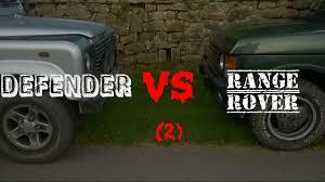 lexus v8 in defender defender 90 u0027 vs range rover classic 2 land rover youtube
