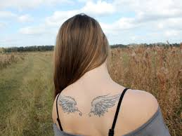 24 dainty small wings tattoos