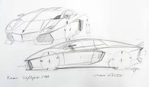 lamborghini sketch filippo perini disegna la lamborghini aventador 1 jpg 1280 751
