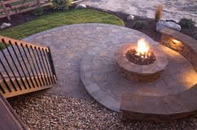 how to build a backyard fire pit large and beautiful photos
