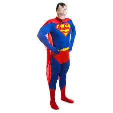2nd skin halloween costumes rubies 2nd skin superman jumpsuit fancy dress costumes