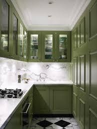kitchen dark green small kitchen glass door kitchen cabinet