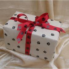 paw print tissue paper kraft paw print recycled tissue paper
