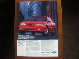 ford taurus sho classic vintage advertisement ad vintage