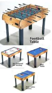 4 in one game table 4 in 1 multi games table pool air hockey table tennis tanle