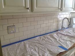 Grout Kitchen Backsplash by Facebook