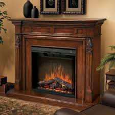 traditional electric fireplace with mantel making electric