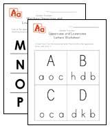 alphabet worksheets for preschool children all kids network
