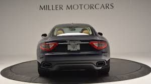 maserati granturismo convertible black 2017 maserati granturismo sport stock m1645 for sale near