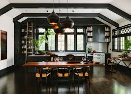 kitchen black kitchen ideas features black kitchen cabinet and black kitchen ideas features black cabinets and island breakfast bar white countertop black fat replica pendant