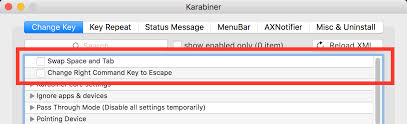 xml pattern space private xml reference manual karabiner software for macos