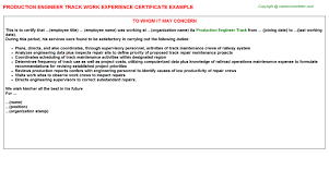 production engineer cover letter powertrain test engineer cover
