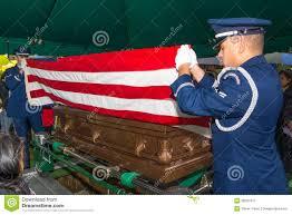 Flag Folding Ceremony American Flag Folding Ceremony Stock Image Image 9812717