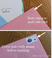 how to never forget to mail a greeting card again the six fix