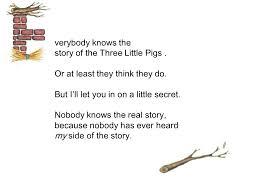 verybody story pigs