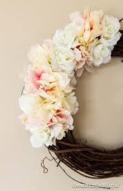 Walmart Wedding Flowers - spring flower wreath
