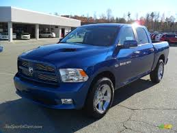 Dodge Ram Sport - 2011 dodge ram 1500 sport crew cab in deep water blue pearl
