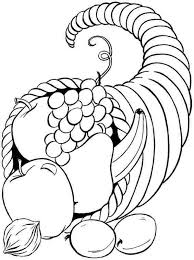 thanksgiving food coloring pages getcoloringpages