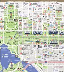 Washington Map With Cities by Streetsmart Washington Dc Map By Vandam Laminated Pocket City