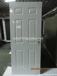 Cheap Interior Glass Doors by Low Price Poly Foam Steel Door Cheap American Style Metal Door