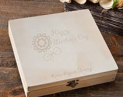 Customized Keepsake Box Engraved Jewelry Box