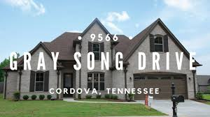 Home Design Center Cordova Tn 9566 Gray Song Drive Cordova Tn For Sale For 269 900 Youtube