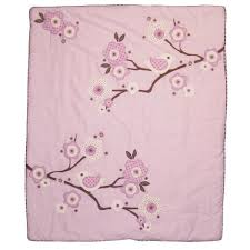 Migi Blossom Crib Bedding Lilac Blossom 3 Baby Crib Bedding Set By Migi Baby Bedding