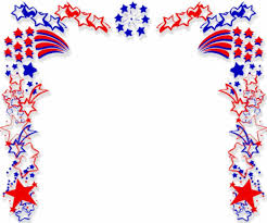 American Flag Powerpoint Background Border Clipart Patriotic Clipart Collection American Flag