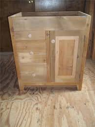 Unfinished Bathroom Furniture Alluring Unfinished Bathroom Cabinets Gen4congress In