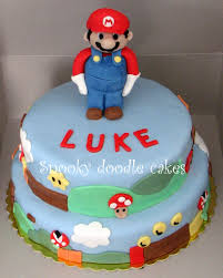 snooky doodle cakes super mario cake