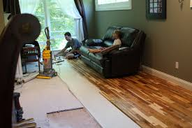 Diy Laminate Flooring Diy Teak Wood Flooring Update Handyhubby