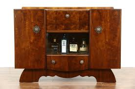 Retro Bar Cabinet Sold Deco Walnut 1940 Vintage Bar Cabinet Signed