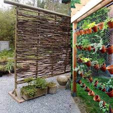 Outdoor Room Dividers Creative Outdoor Room Dividers Delightful Outdoor Ideas