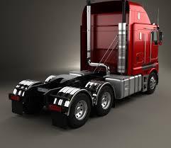 kenworth tractor kenworth k200 tractor truck 2010 3d model hum3d