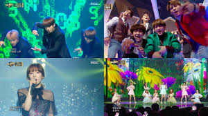 watch bts exo shinee taeyeon twice and many more perform at
