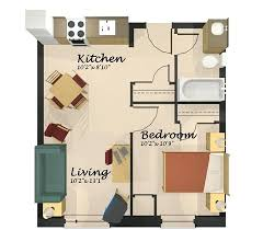 layout apartment one bedroom apartment layout best small 1 bedroom apartment floor