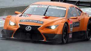 Lexus Lf Cc Race Car Caught On Video
