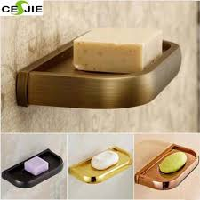 solid brass wall mounted soap dish holder soap stand bathroom