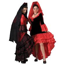 Spanish Dancer Halloween Costume Spanish Senorita Costume Flamenco Dancer