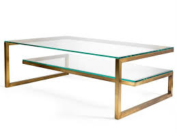 Glass And Gold Coffee Table Enchanting Brass Glass Coffee Table With 25 Best Ideas About Brass