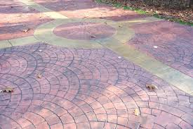 Brushed Concrete Patio Decorative Concrete Staining Stamped Concrete Concrete Repair