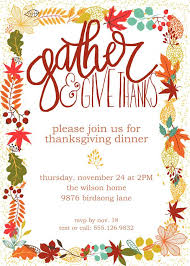 make your own thanksgiving invitations festival collections