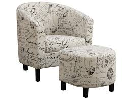 furniture upholstered chair and ottoman sets joss and main