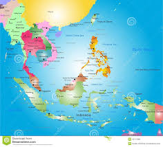 Countries Map East Asian Countries Map