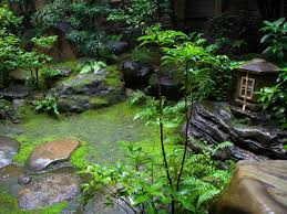 japanese style zen gardens originated in zen monasteries and are